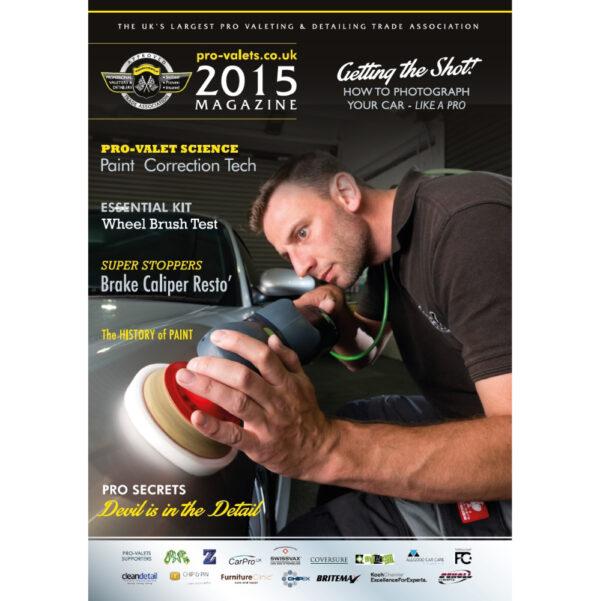 PRO Detailer Magazine – Nr. 1-2015 – Front Cover