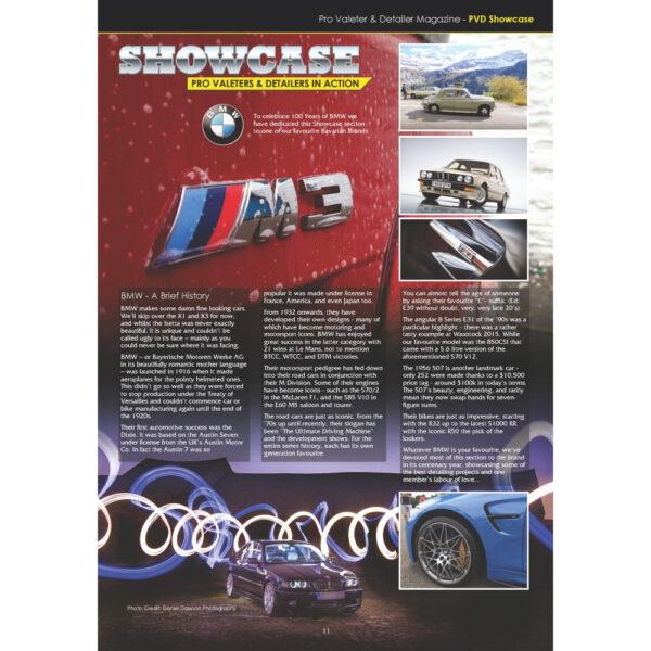 PRO Detailer Magazine – Nr. 4-2016 – Showcase