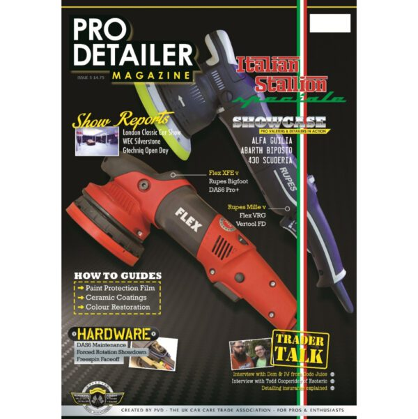 PRO Detailer Magazine – Nr. 5-2017 – Front Cover