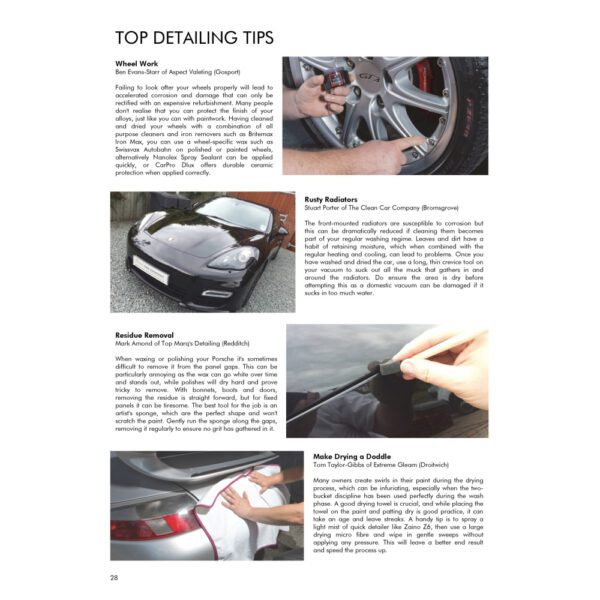 PRO Detailer Magazine – Nr. 1-2015 – Detailing Tips