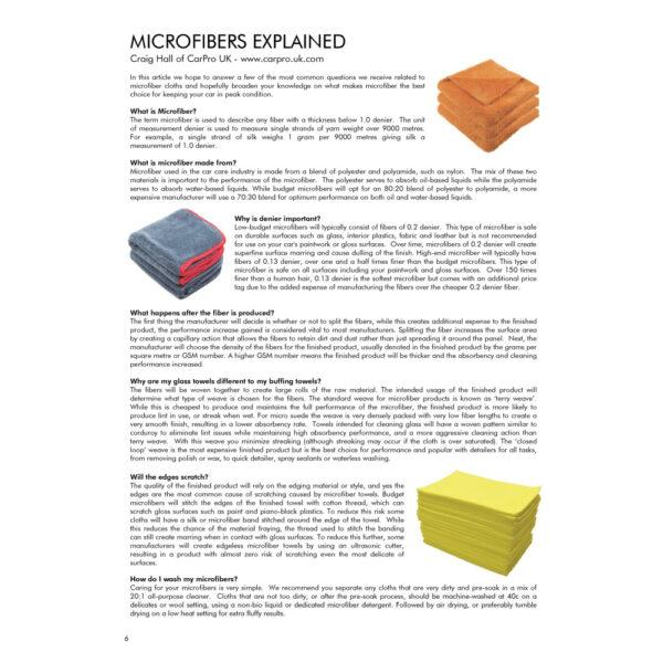 PRO Detailer Magazine – Nr. 1-2015 – Microfibres Explained