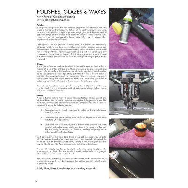 PRO Detailer Magazine – Nr. 1-2015 – Polish Wax Glaze