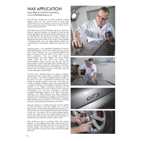 PRO Detailer Magazine – Nr. 1-2015 – Wax Application