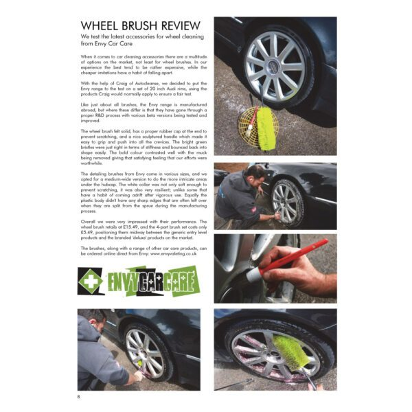 PRO Detailer Magazine – Nr. 1-2015 – Wheel Brush Review