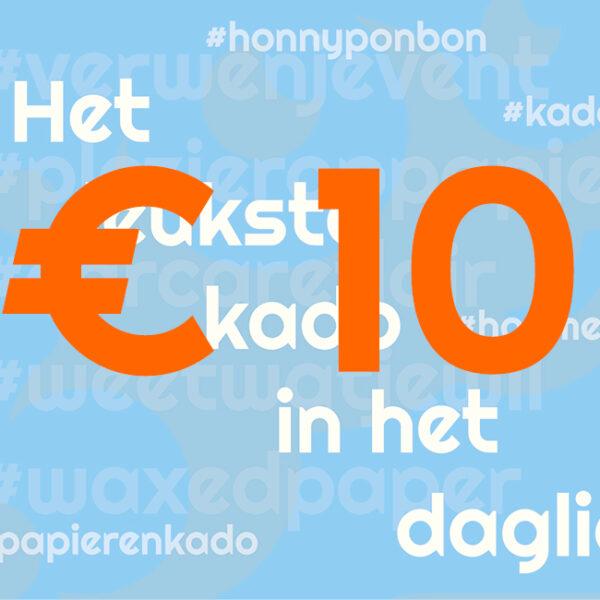 CCNL – Kadobon – 10 euro – cadeautje