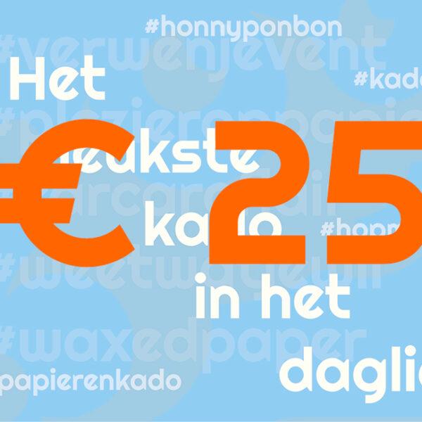 CCNL – Kadobon – 25 euro – cadeautje