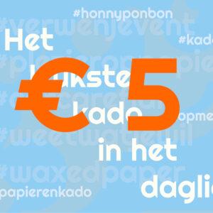 CCNL - Kadobon - 5 euro - cadeautje