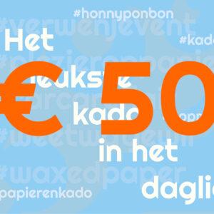 CCNL - Kadobon - 50 euro - cadeautje