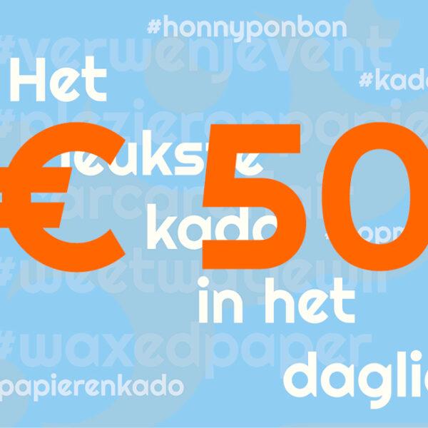 CCNL – Kadobon – 50 euro – cadeautje