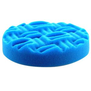 Dodo Juice - Blue Fin Light Polishing Pad - 150mm - close up
