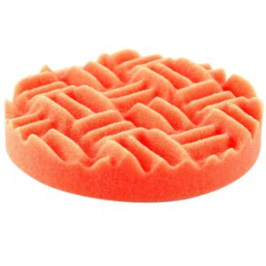 Dodo Juice - Orange Fin Cutting Pad - 150mm - close up