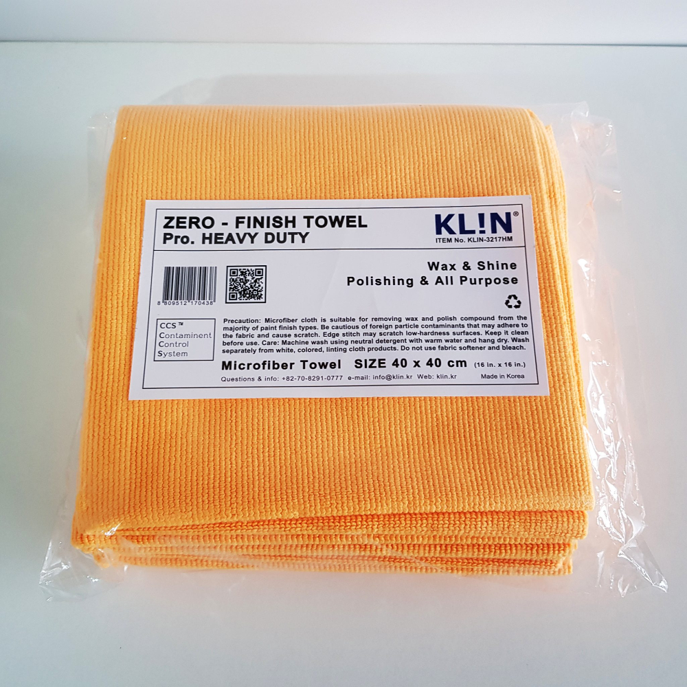Klin Korea - Zero Finish HD - 5 stuks - 40 x 40 cm