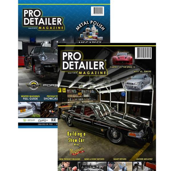 Pro Detailer Magazine bundel 2018