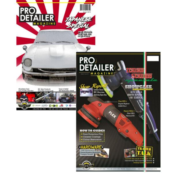Pro Detailer Magazine 2017 bundel