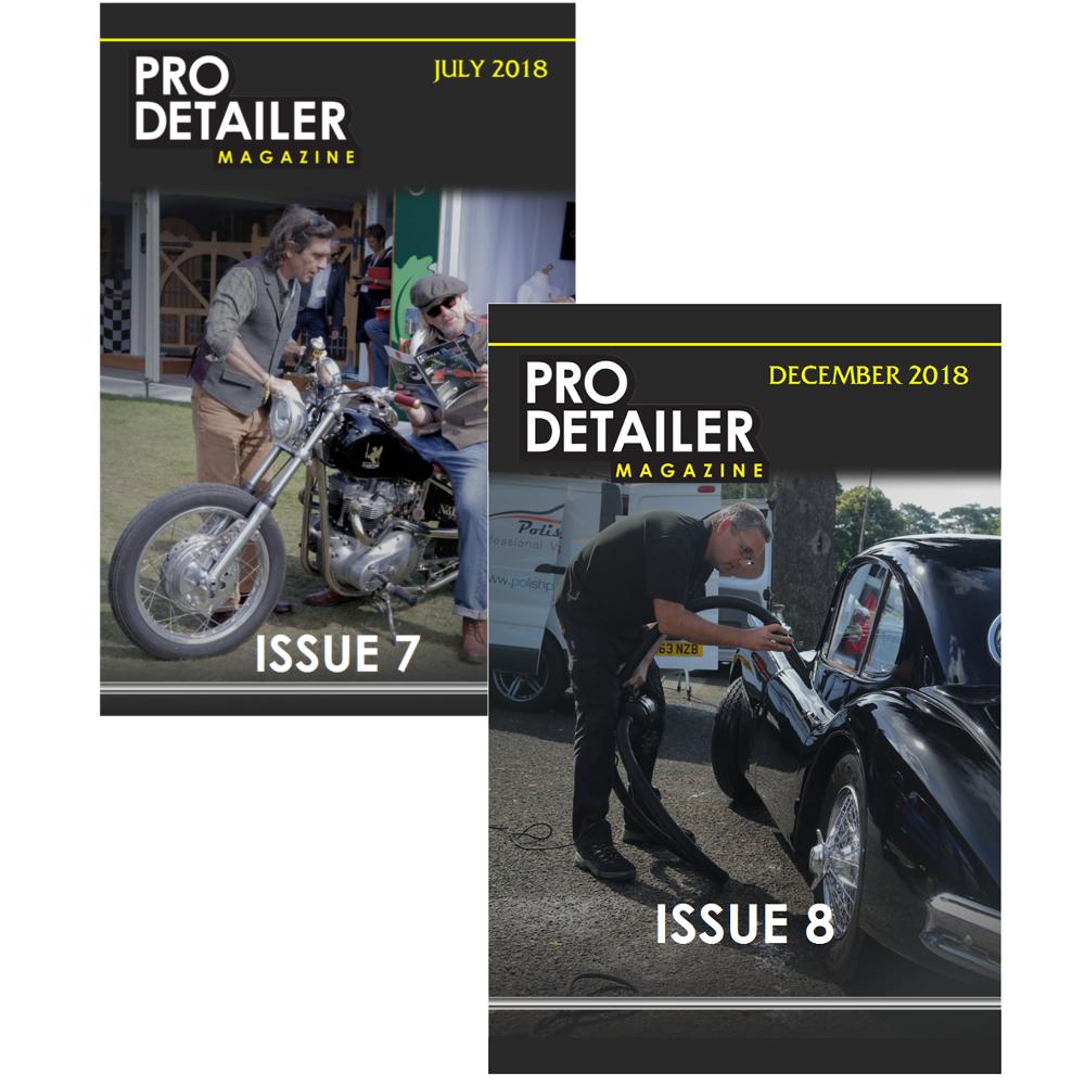 Pro Detailer Magazine 2018 Bundel