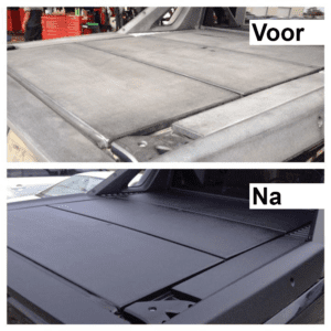 Solution Finish voorbeeld